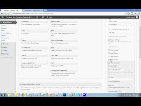 Adding Rotating Testimonials to WordPress Tutorial