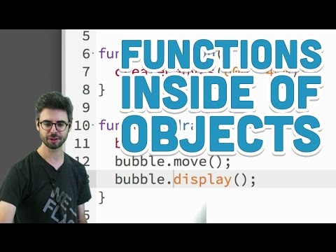 5.4: Functions Inside of Objects - p5.js Tutorial