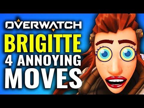 4 Most ANNOYING Brigitte Tactics - Overwatch Tips & Tricks