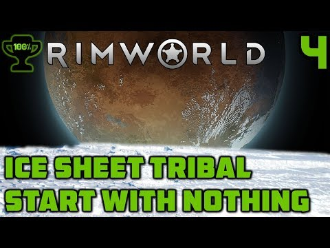 Muffalos & Electricity - Rimworld Ice Sheet Tribal Episode 4 [Rimworld Beta 18 Ice Sheet Challenge]