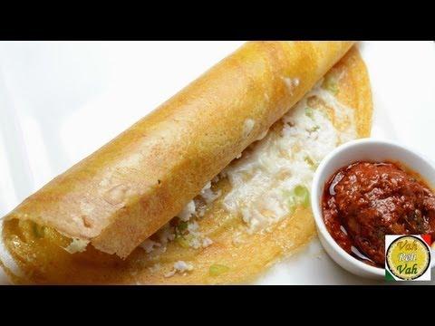 Cheese Adai Dosa  - By VahChef @ VahRehVah.com