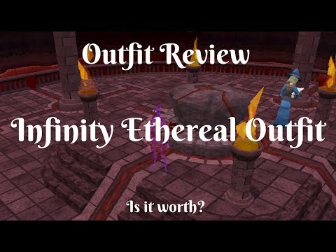 Infinity Ethereal Outfit -Elite Outfit Review -  Is it worth going for - Full set rewards explained