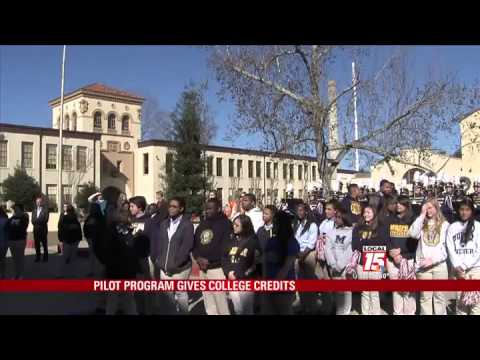 Pilot Programs Gives College Credits