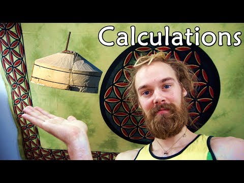 How to build a Yurt - Calculations