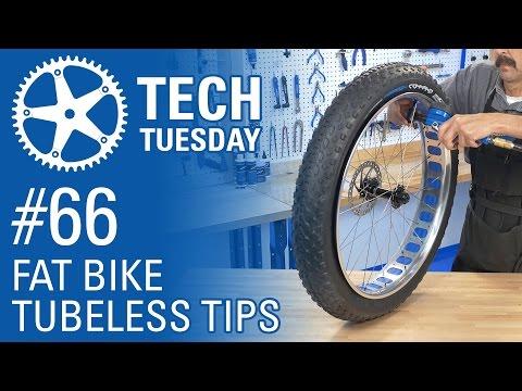 Fat Bike Tubeless Tips - Tech Tuesday #66