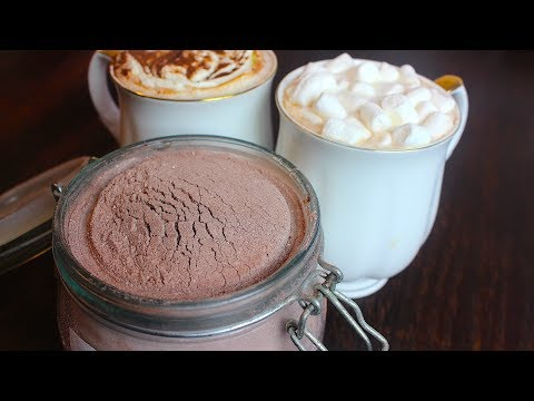 HOMEMADE HOT CHOCOLATE *COOK WITH FAIZA*