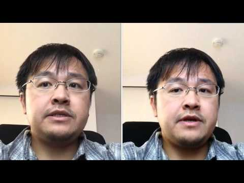 iPhone 5s vs iPad Mini - Front Facing FaceTime Camera Test by tkviper.com