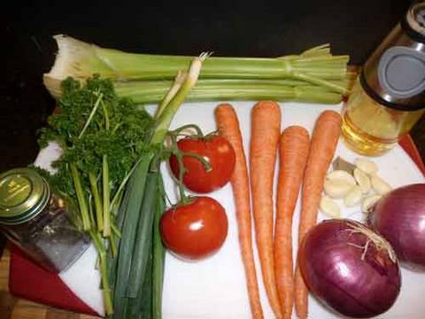 Vegetable Stock  or Vegetable Broth Recipe