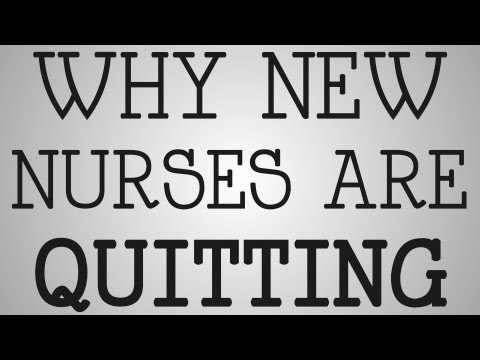 Graduate Nurses | Why New Nurses Are Quitting