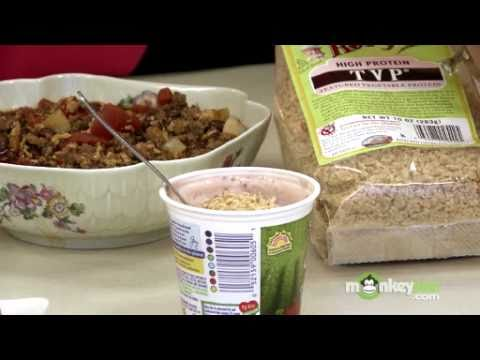 Soy Recipes - Textured Soy Protein