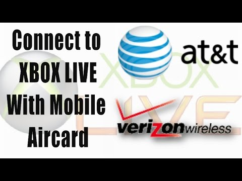 HOW TO: Connect to Xbox LIVE with Mobile Broadband 3G 4G USB Modem - AT&T Communication Manager
