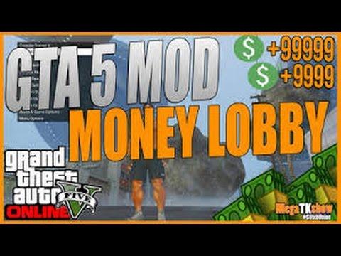 GTA 5 ONLINE: *FREE* MONEY LOBBY GLITCH 1.29/1.31 - MODDED LOBBY! (PS3, Xbox 360, PS4, Xbox One, PC)