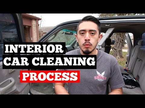 How To Clean Car Interior Like A PROFESSIONAL Detailer!