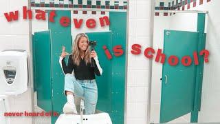 a high school vlog: senioritis edition