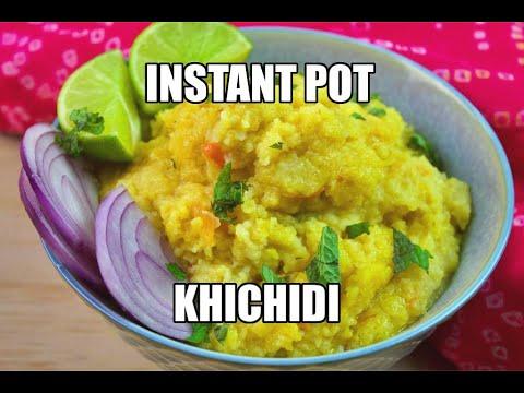 Instant Pot Khichdi | Rice and Lentil Porridge
