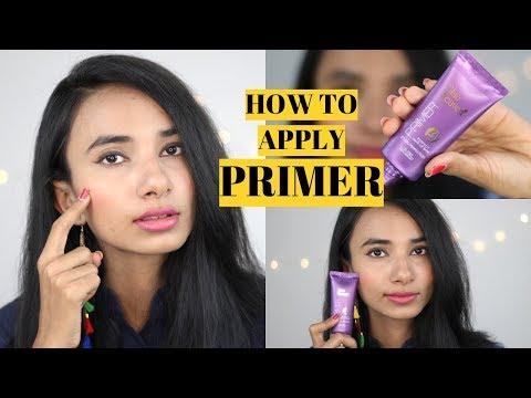 तैलिये त्वचा के लिए सबसे अच्छा/ सस्ता प्राइमर कौनसा है ? प्राइमर लगाने का सही तरीका क्या है ?