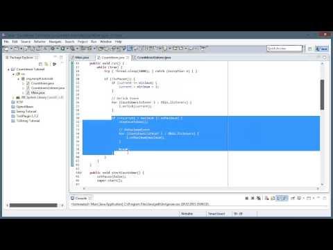 Countdown in Java programmieren [Deutsch][HD]