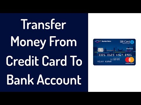 Transfer Money From Credit Card To Bank Account For Free {0% Charges} - Credit Card To Bank Transfer