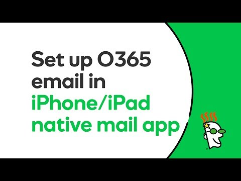 GoDaddy Office 365 Email Setup in Native iOS Mail App (iPhone / iPad) | GoDaddy