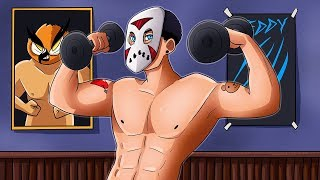 DELIRIOUS AT THE GYM! - Spare Clips Funny Moments