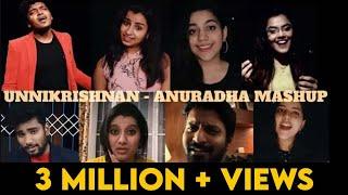 Unnikrishnan- Anuradha Mashup   Super Singer Stars   Golden Hits