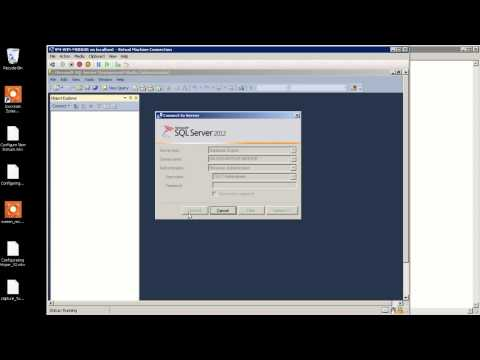 Configure SQL Server 2012 Security Endpoint Part 3