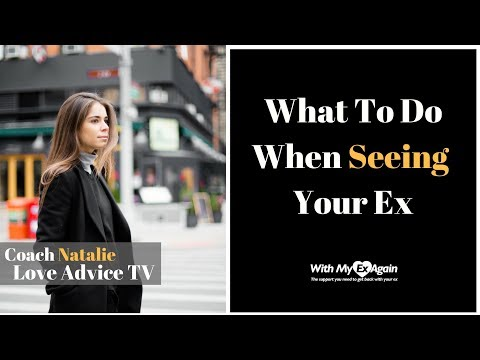 What To Do When You Run Into Your Ex