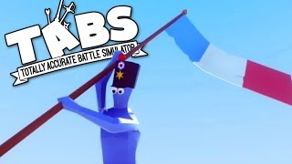 TABS - New Swords, Bayonets, and a Buffing Flag Bearer! - Totally Accurate Battle Simulator