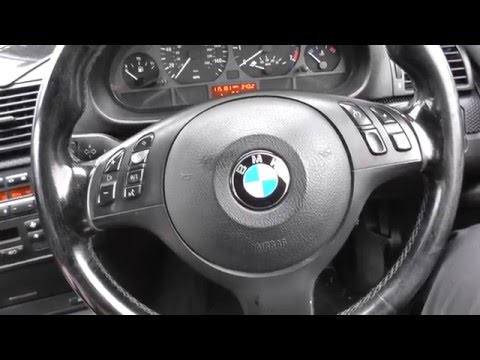 BMW E46 E90 Faulty Brake Booster Test For Hard Brake Pedal