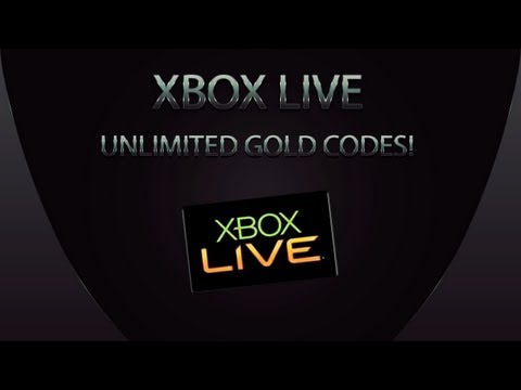 How to get Unlimited Xbox LIVE 14 Day Gold Membership Codes! (FREE) (EASY)