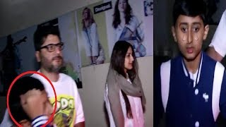 Sonali Bendre's Son Crying For Mother outside hospital | Watch Video | Final Cut News