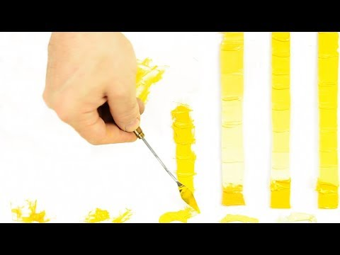 Mixing Yellow Oil Paint