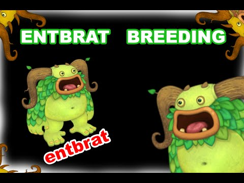 My Singing Monsters How To Breed Entbrat in Plant Island (and SOUND!)