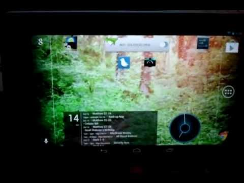 How to Get Landscape Mode on the Google Nexus 7 Tablet Home Screen