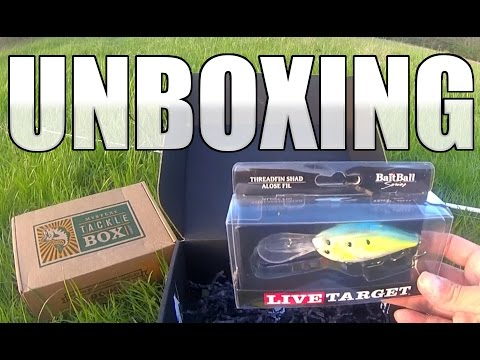 Mystery Tackle Box PRO - March Unboxing