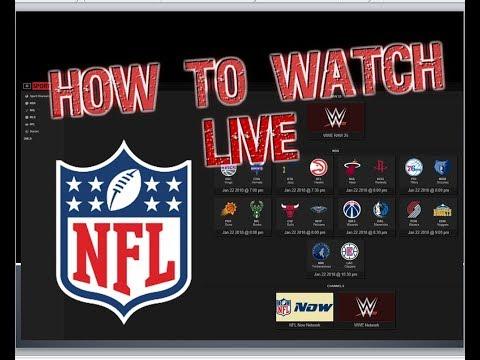 How to Watch LIVE NFL -- SPORTS_ARE_FREE.COM { NBA- NFL- SOCCER- WWE - NHL - MLB }