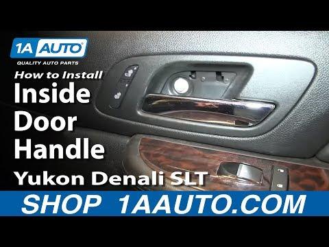 How To Install Replace Inside Door Handle 2007-13 Silverado Tahoe LTZ Sierra Yukon Denali SLT