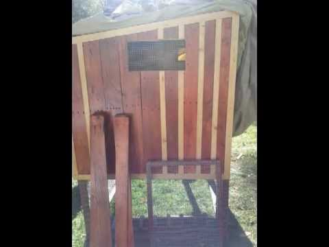 Chicken Coop Built from Pallets