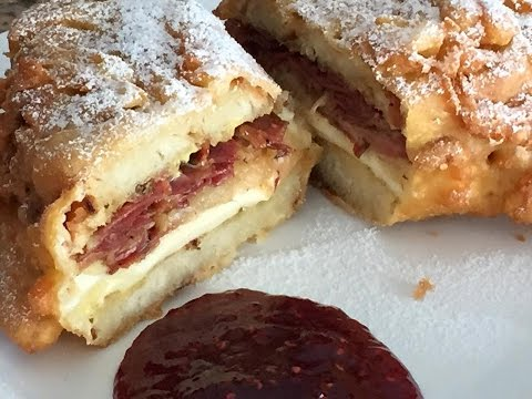 World's Greatest Sandwich Monte Cristo Reuben Cooking Italian with Joe