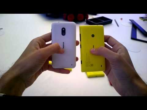 Nokia Lumia 620 vs Nokia Lumia 520 - Side by Side Comparison