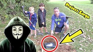 Project Zorgo We Found the Hackers Abandoned Buried Safe on a Real Life Treasure Hunt