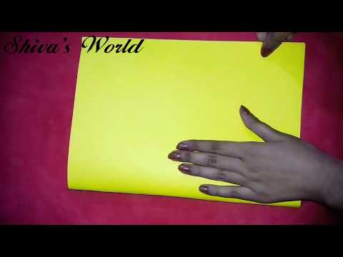 How to cover your notebook with waste chart| notebook cover simple and easy | diy waste chart use