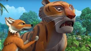 Маугли - Котенок Хан –развивающий мультфильм для детей Hd