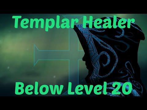 ESO: Templar Healer Below Level 20 Build (Heal ANY normal dungeon)