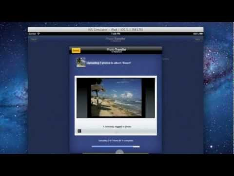 Upload Photos from iPad to Facebook