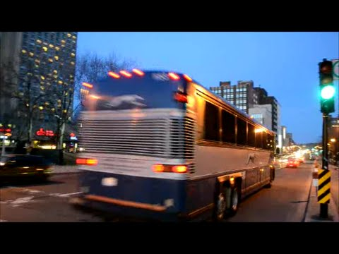 CANADIAN COACHES DRIVING IN MONTREAL QUEBEC
