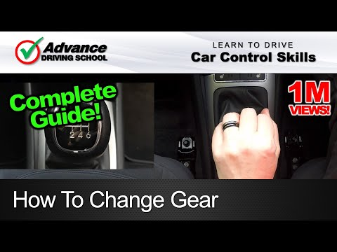 How To Change Gear  |  Learning to drive: Car control skills
