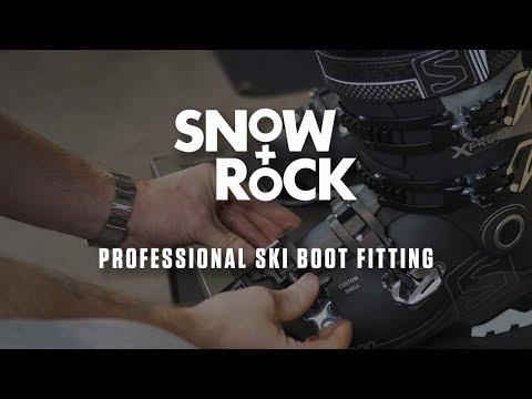 Professional Custom Ski Boot Fitting at Snow+Rock