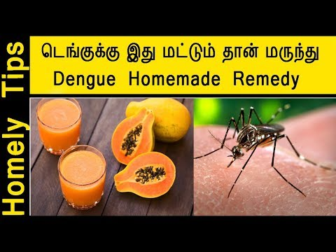 Remedy for dengue fever | How to cure Dengue Fever | Dengue fever remedy in tamil