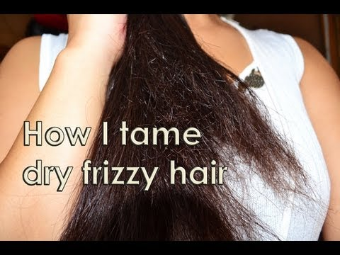 How I Tame Dry Frizzy Hair Instantly